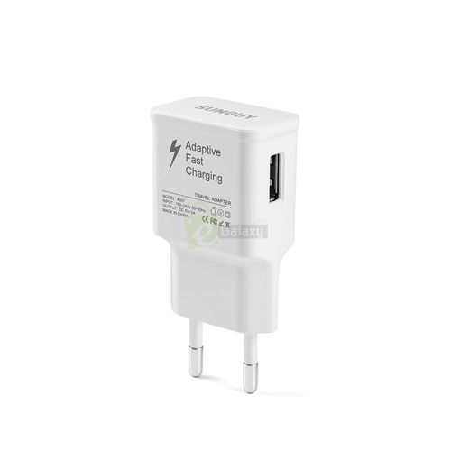 s7 charger fast charging white