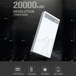 Remax Power Bank RPL-58 (20000mAh) Original 74Wh