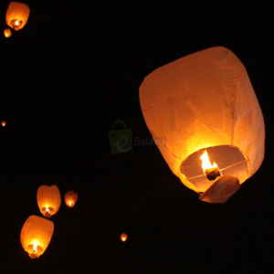 Sky Lantern with different Colors