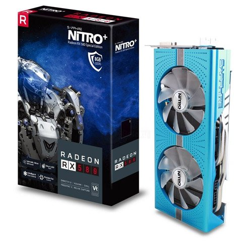 SAPPHIRE NITRO Radeon™ RX 580 8GD5 Special Edition