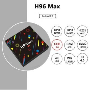 H96 MAX H2 Colorful Edition 4GB 32GB Android 7 1 RK3328 TV Box 20171221160529726