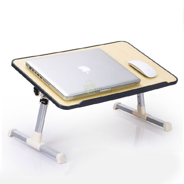 e laptop desk wooden