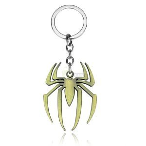 spiderman-gold-copper-plated-keychain