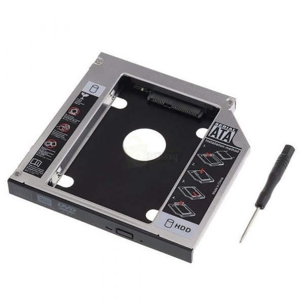 2nd HDD Caddy for Laptop Universal CD DVD ROM main