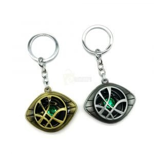 Doctor Strange Keychain Marvel Keychain silver and gold