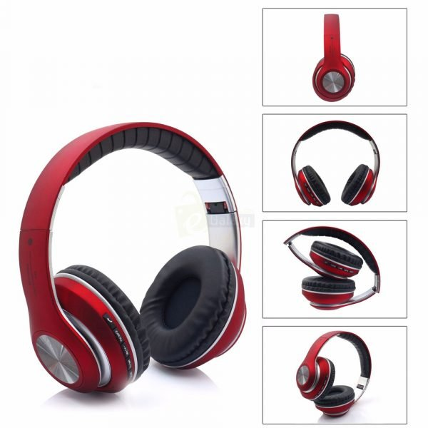 JBL V33 Bluetooth Wireless Headphones red views