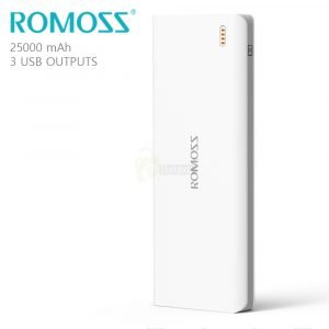 ROMOSS Sense 9 Power Bank 25000mAh Samsung & iPhone power bank