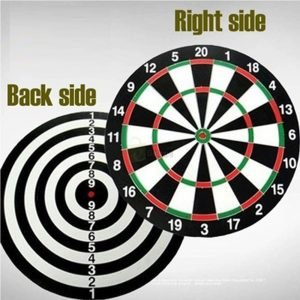17 inches Dart Board Game Wooden backside