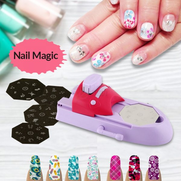 DIY Nail Magic Nail Art Device