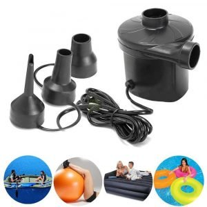 Electric Air Pump inflatable deflate vacuum with nozzles