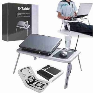 Laptop E Table Foldable Table
