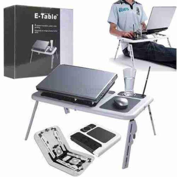 Laptop E Table Foldable Table