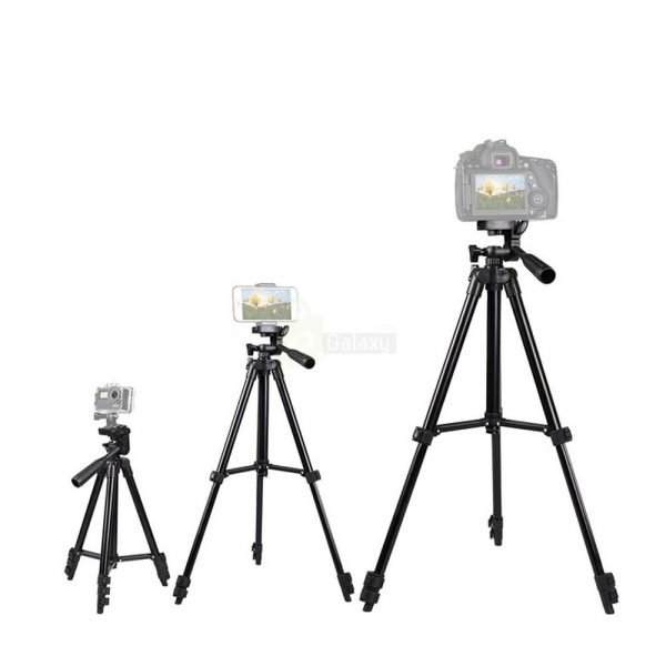 Triod Stand 3120 for camera and mobiles different sizes