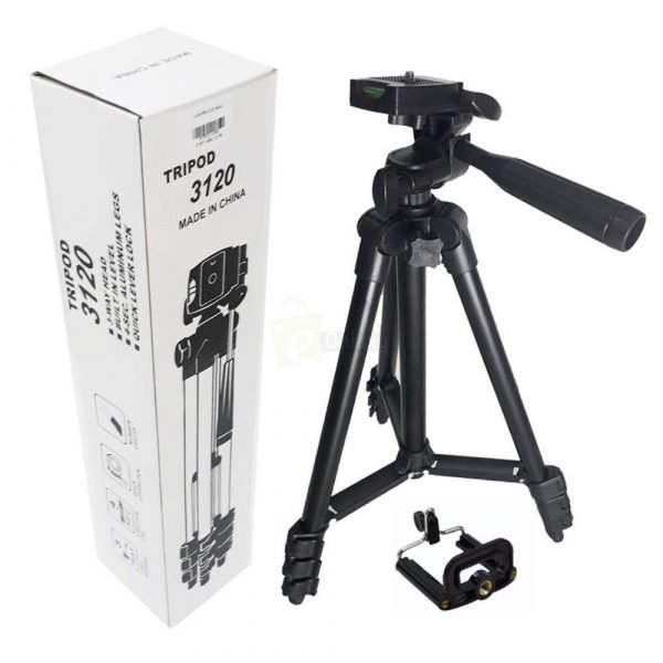Triod Stand 3120 for camera and mobiles with packing