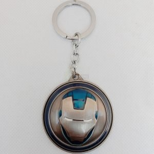 ironman-face-keychain-metal-silver-blue