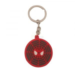 spiderman-rubber-keychain