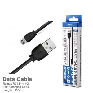 Remax RC134m USB Fast Charging Data Sync Cable For Android Phones