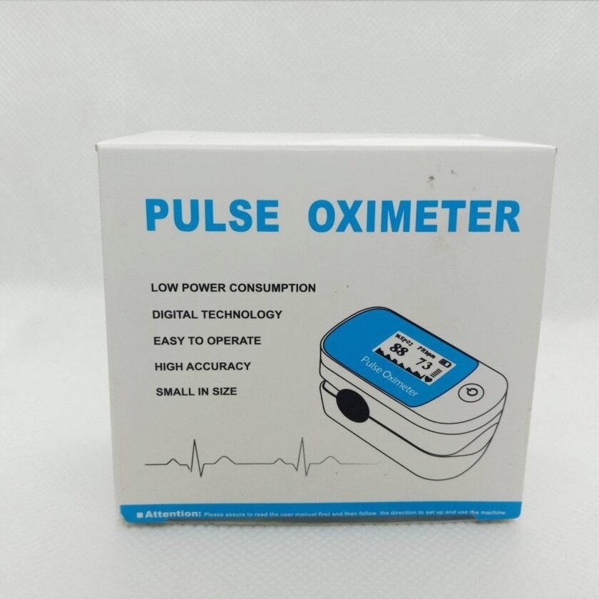 oximeter blue packing