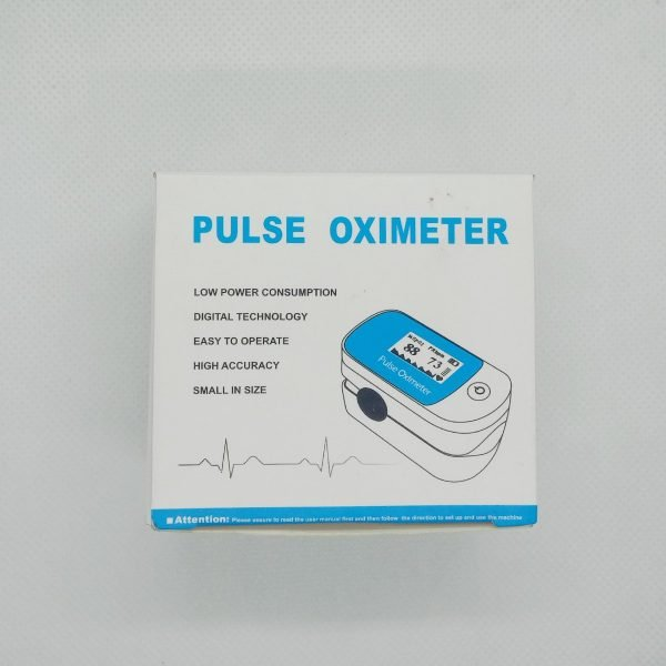 oximeter blue packing front