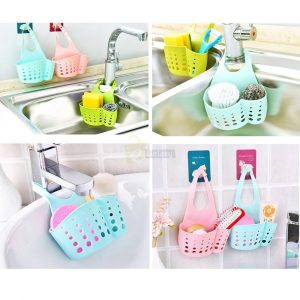 Silicone Sink Basket Hanging Kitchen Basket main