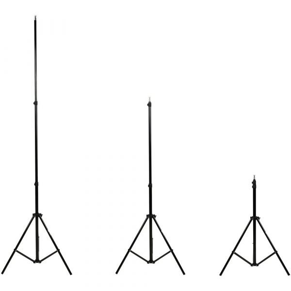 7 Feet Tripod Photography Light Stand Umbrellas Mic Mount