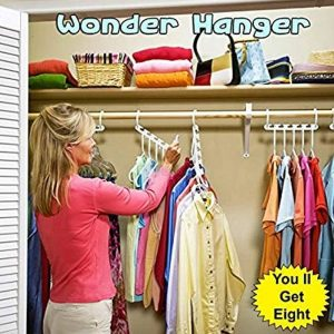 Wonder Hanger Closet Wardrobe Organizer Pack of 8