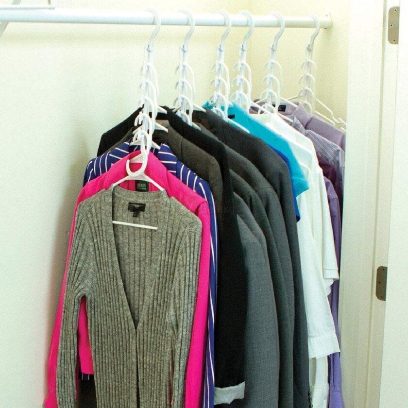 Wonder Hanger Closet Wardrobe Organizer Pack of 8 display