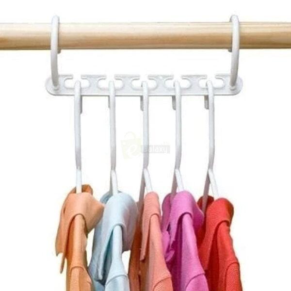 Wonder Hanger Closet Wardrobe Organizer Pack of 8 shirts