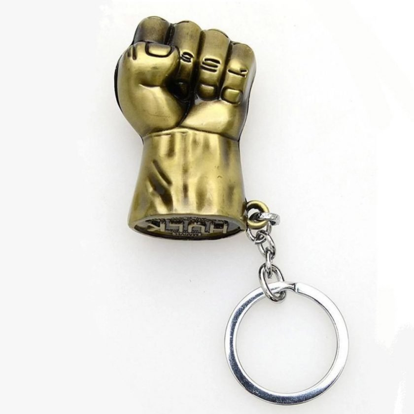 Incredible Hulk keychain Marvel Hulk Punch Keychain