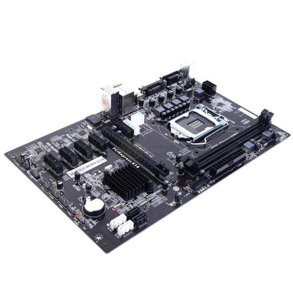 Colorful H81A BTC V20 6 PCI E Slots LGA1150 Socket Mining Motherboard black